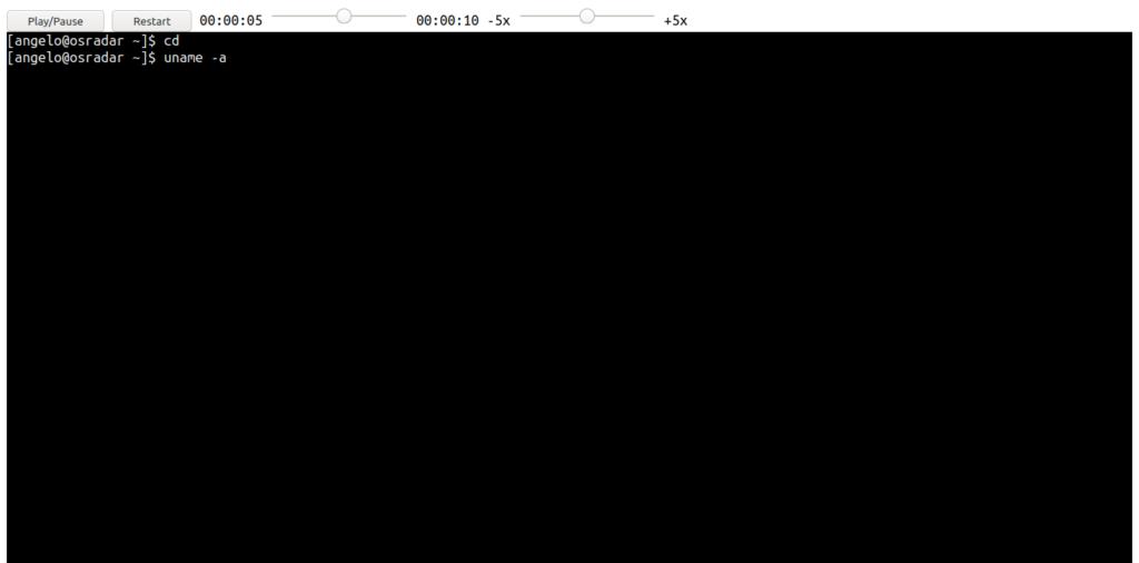 1.- TermRecord on AlmaLinux OS 8 / CentOS 8