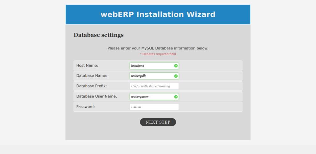 3.- Installing WebERP on AlmaLinux 8 / CentOS 8