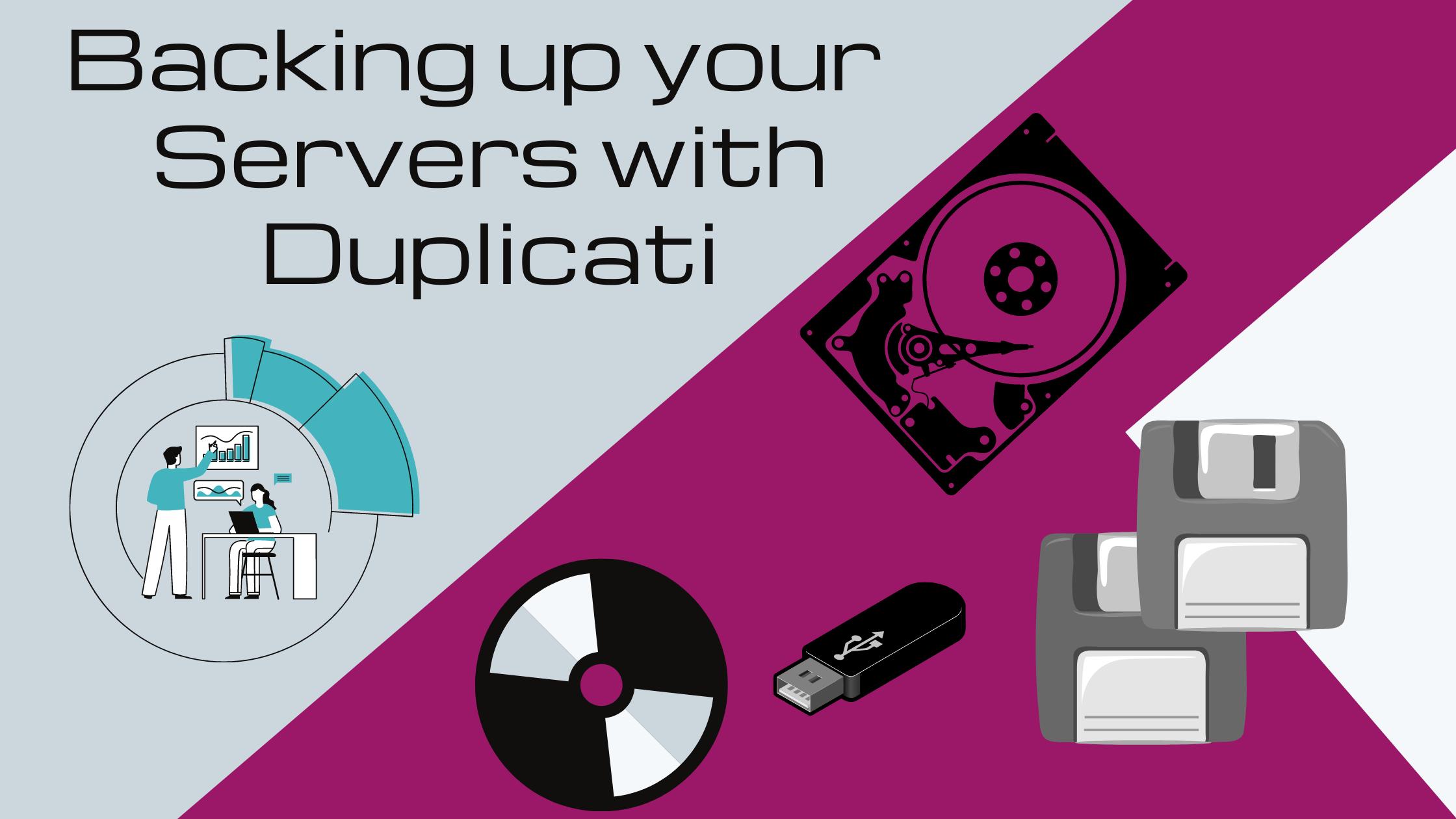Backing up data with Duplicati