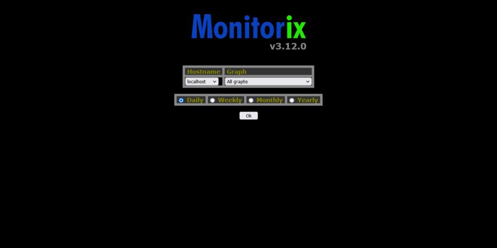 1.- Monitorix screen