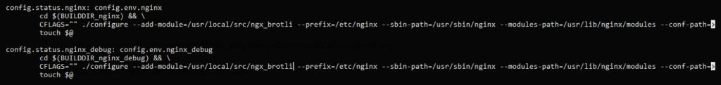 1.- Enabling the Brotli compression on Nginx and Ubuntu 20.04