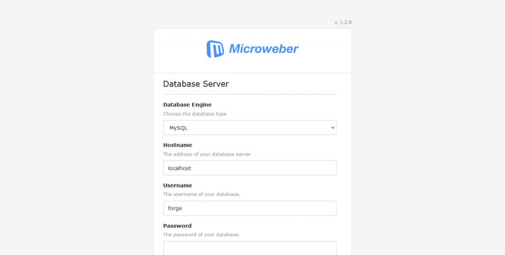 2.- Installing Microweber CMS on Ubuntu 20.04