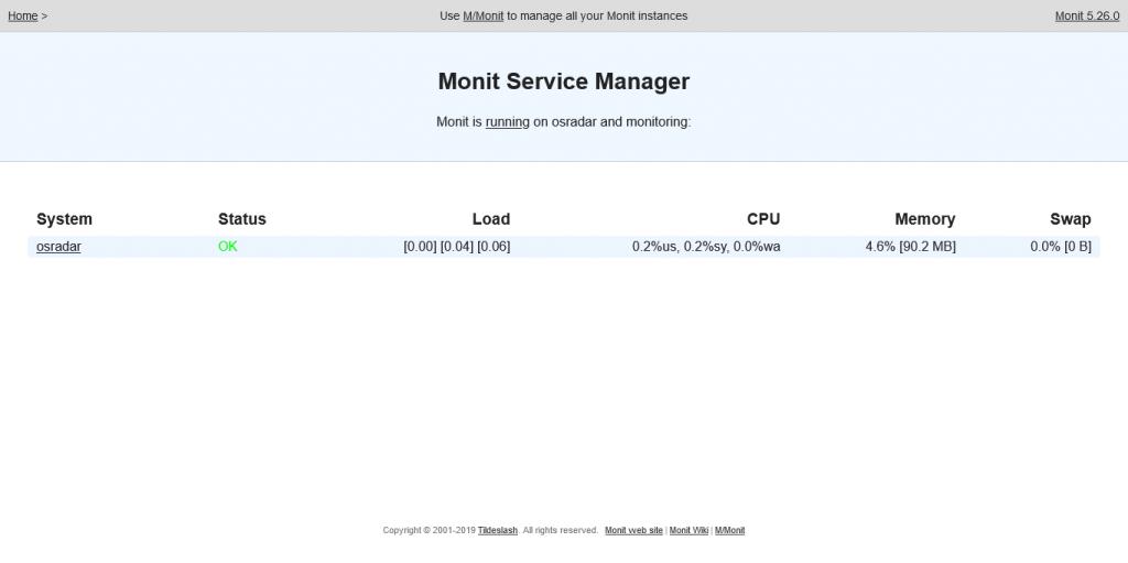 1.- Monit on Ubuntu 20.04
