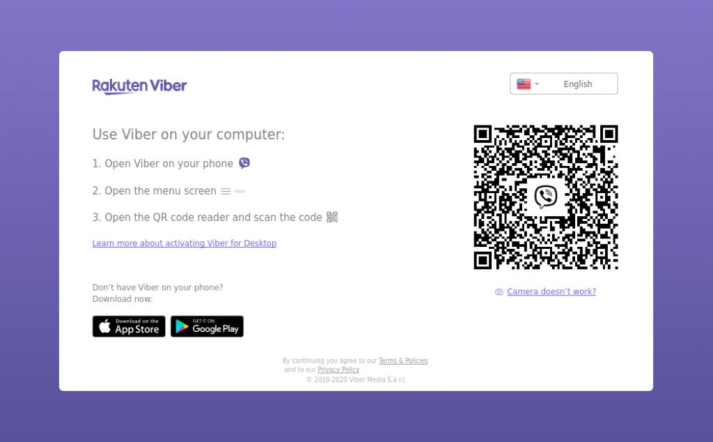 1.- Viber desktop app on Ubuntu 20.04