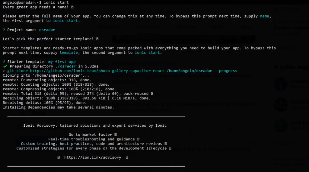 1.- Installing Ionic on Ubuntu 20.04
