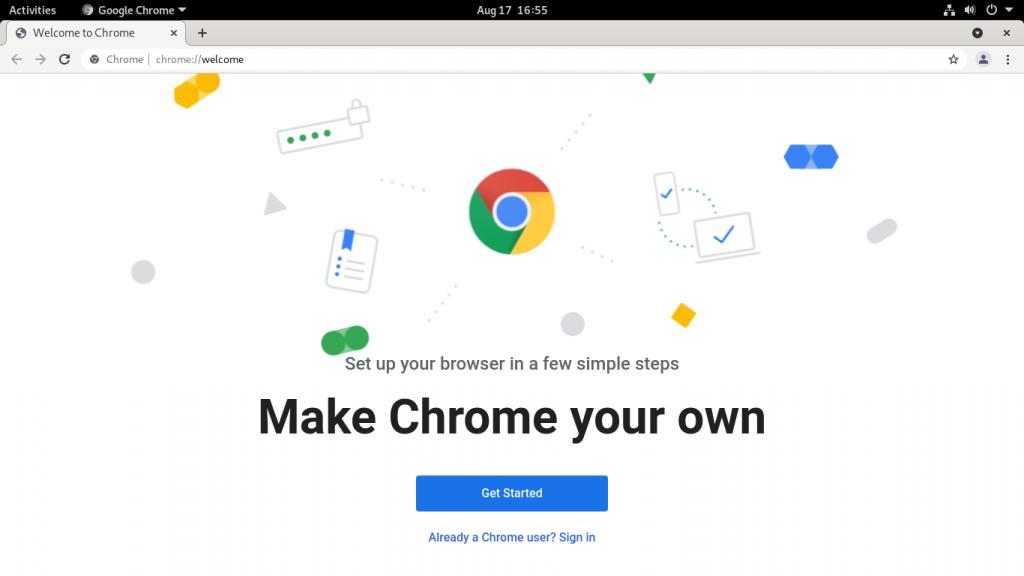 3.- Google Chrome on Debian 11