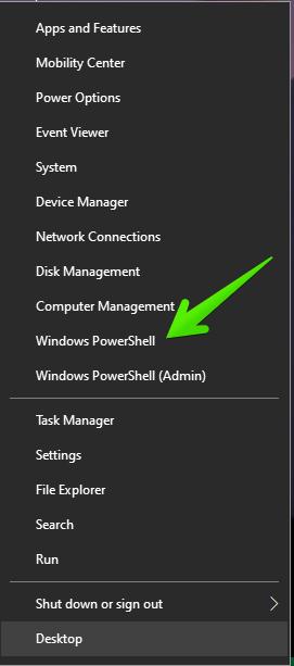 Launching a PowerShell
