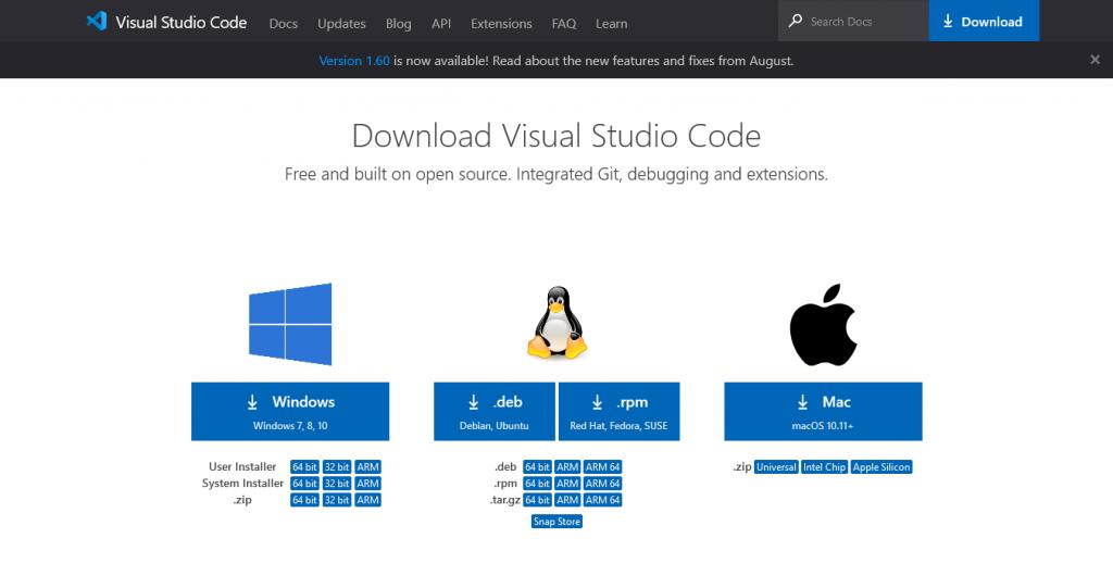 1.- Download Visual Studio Code on Debian 11