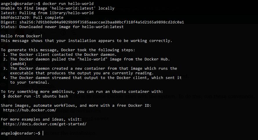 1.- Docker running on Debian 11
