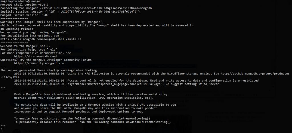 1.- MongoDB on Debian 11